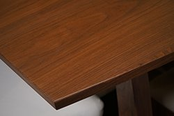 Walnut wood grain pattern