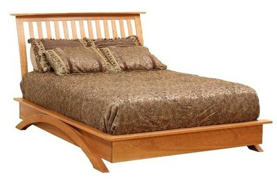 Amish Gateway Platform Bed