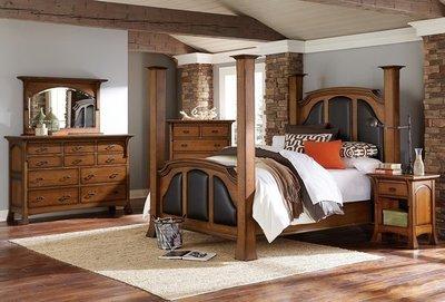 Amish Breckenridge 5 Piece Bedroom Set