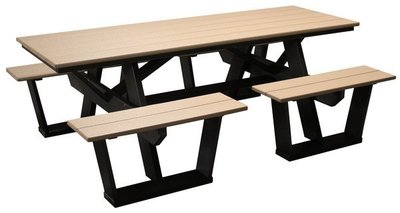 Amish Poly 7' Split Seat Picnic Table