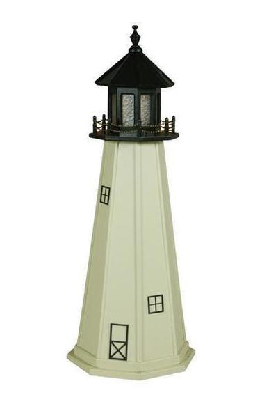 Amish Split Rock MN Wooden Garden Lighthouse
