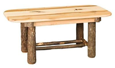 Amish Bearwood Rustic Coffee Table