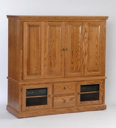 Amish Deluxe Entertainment Center