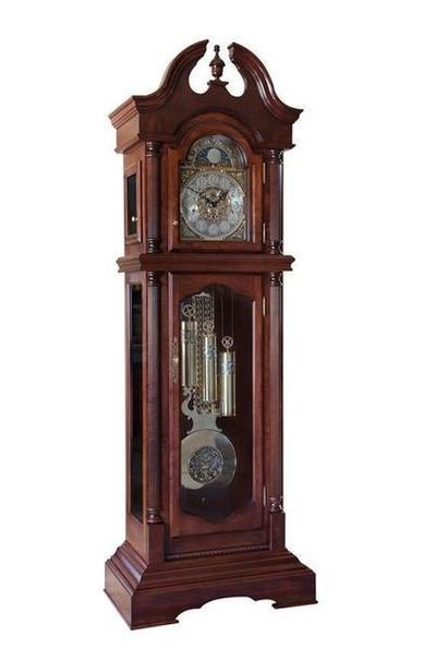Amish Made Pequea Grandfather Floor Clock