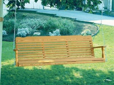 Amish Pine Wood Westchester Porch Swing