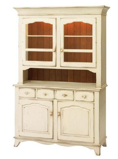 Provence Two Door Buffet and Hutch by Keystone