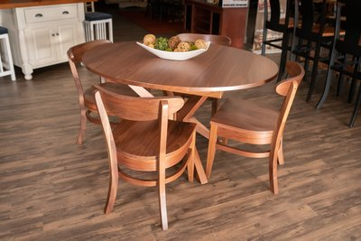 Quick Ship Vadsco Walnut Dining Table