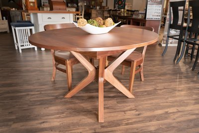 Vadsco Dining Table at the DutchCrafters Showroom