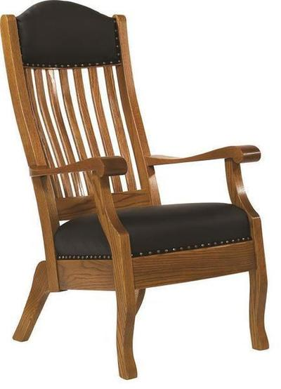 Amish King Mission Accent Chair