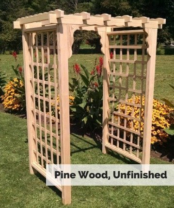 Amish Made Lexington Outdoor Arbor