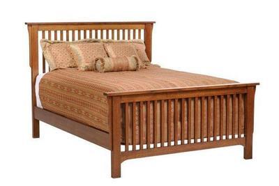 Amish San Juan Mission Slat Bed