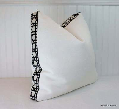 Linen pillow from Southern Shades