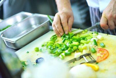 Slow food preparation.