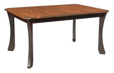 Amish Monarch Leg Dining Table