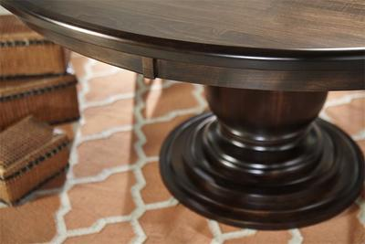 Amish Ziglar Pedestal Dining Table