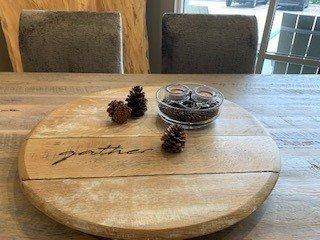 Rustic DIY Table Centerpiece
