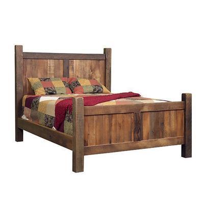 Reclaimed Wood Farmhouse Bed