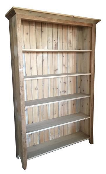 Rustic Barn Wood Bookshelf