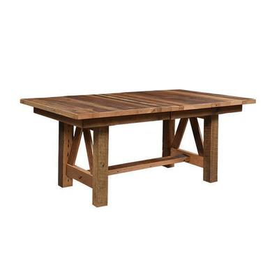 Vienna Extension Reclaimed Barn Wood Table