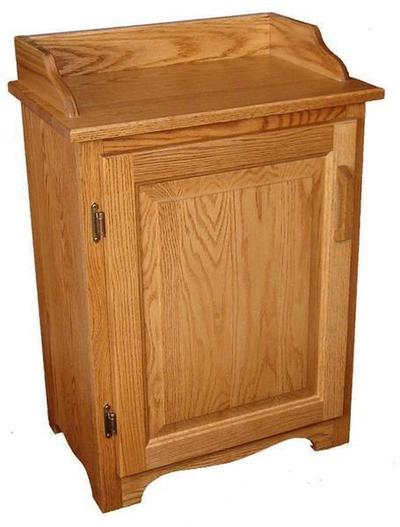 Amish Oak Wood Dry Sink