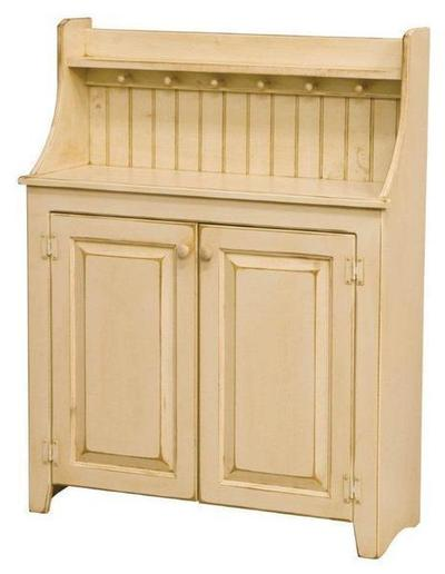 Amish Pine Wood Large Dry Sink
