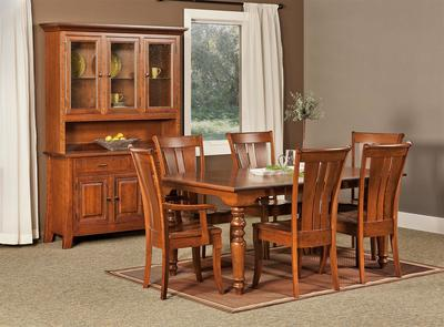 Fenmore Cherry Wood Dining Set