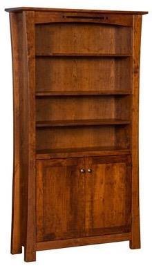 Iris Mission Style Bookcase