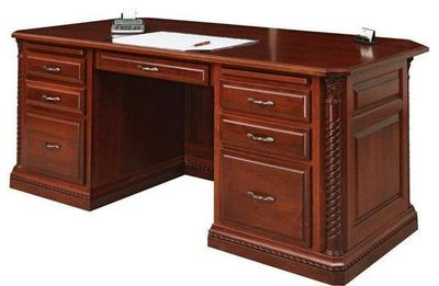Amish Lexington Executive Desk