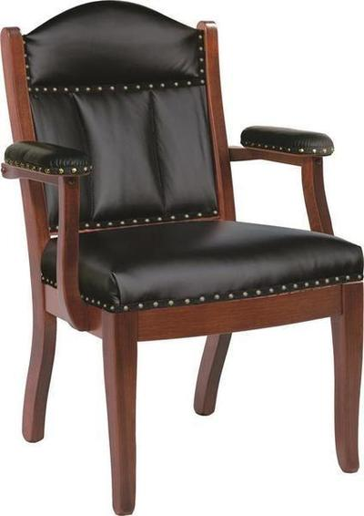 Amish Low Back Arm Office Chair