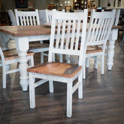 Amish Reclaimed Barnwood Farmhouse Dining Chair