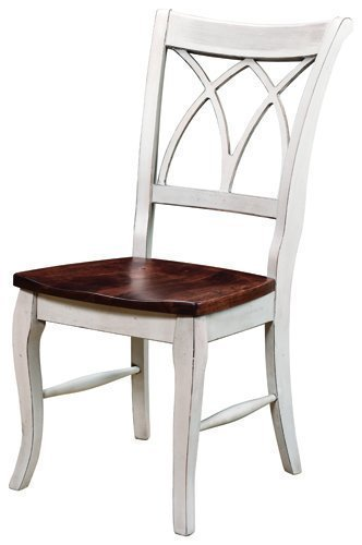 Amish Double X Back Dining Room Chair