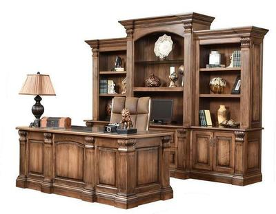 Amish Montereau Executive Desk