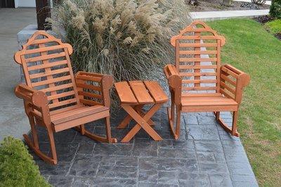 Amish Cedar Wood Chester Porch Rocking Chair