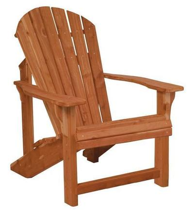 Amish Cedar Wood Traditional Adirondack Chair