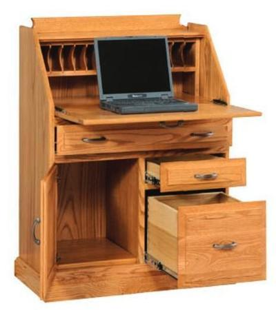 Amish Classic Secretary Desk with File Drawer
