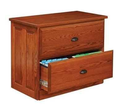 Amish Holmes Lateral File Cabinet