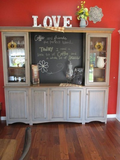 Amish Large Pine Dining Hutch
