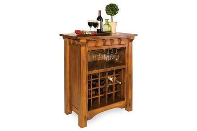 Amish Manitoba Wine Cabinet