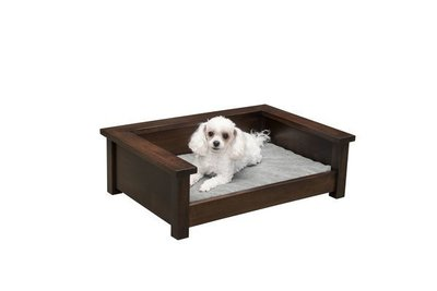 Amish Wooden Dog Bed Lounger