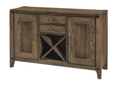 Amish Durango Bar and Wine Cabinet