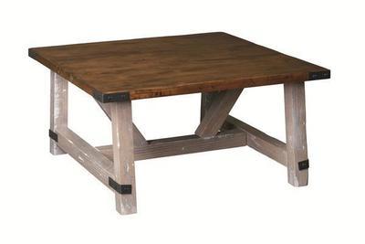 Amish Olde Farmstead Square Coffee Table