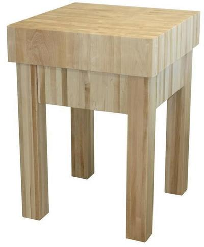 Amish 6 Butcher Block Kitchen Island