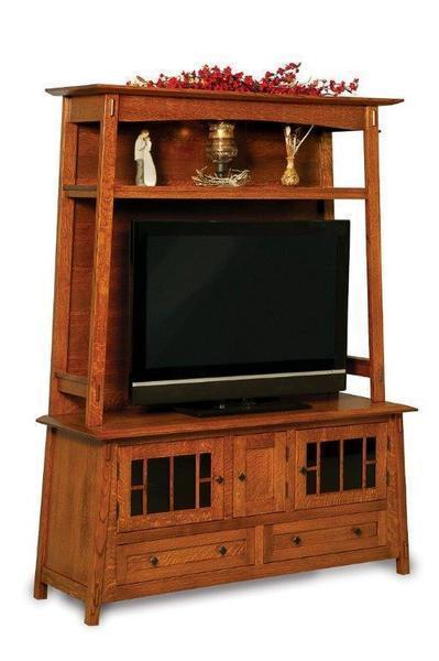 Amish Colbran Mission Entertainment Center
