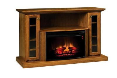 Amish Elizabethtown Classic 54 Electric Fireplace TV Stand
