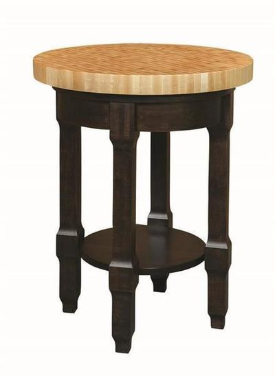 Amish Royal Crest Kitchen Island Butcher Block