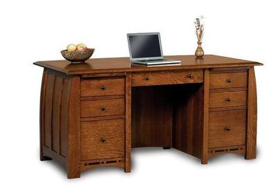 Amish Boulder Creek Executive Desk