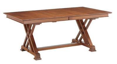 Amish Heyerly Trestle Dining Table