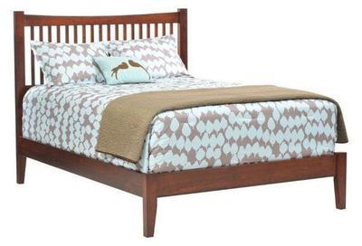 Amish Ashton Slat Bed