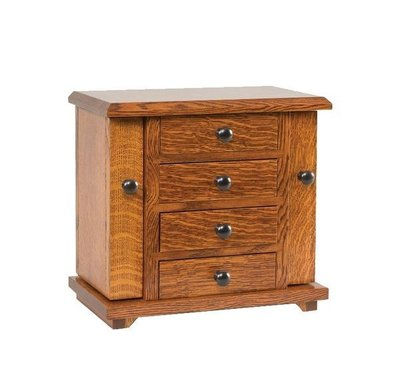 Amish Dresser Top Jewelry Storage