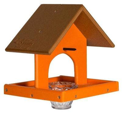Amish Poly Lumber Single Oriole Bird Feeder